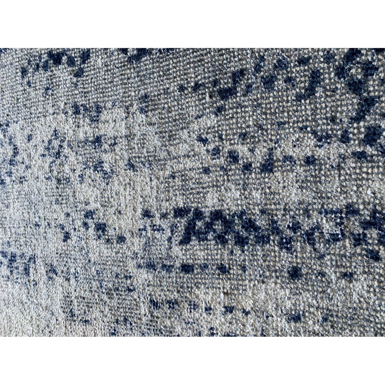 West Elm Distressed Rug in Moonstone - image-2
