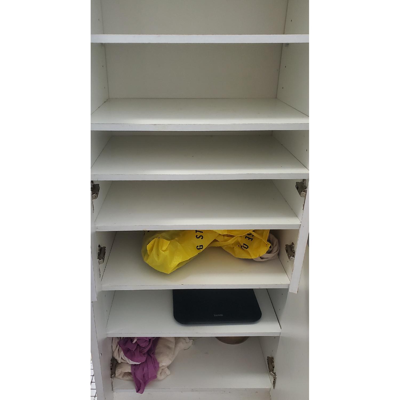 White Storage Cabinet - image-2
