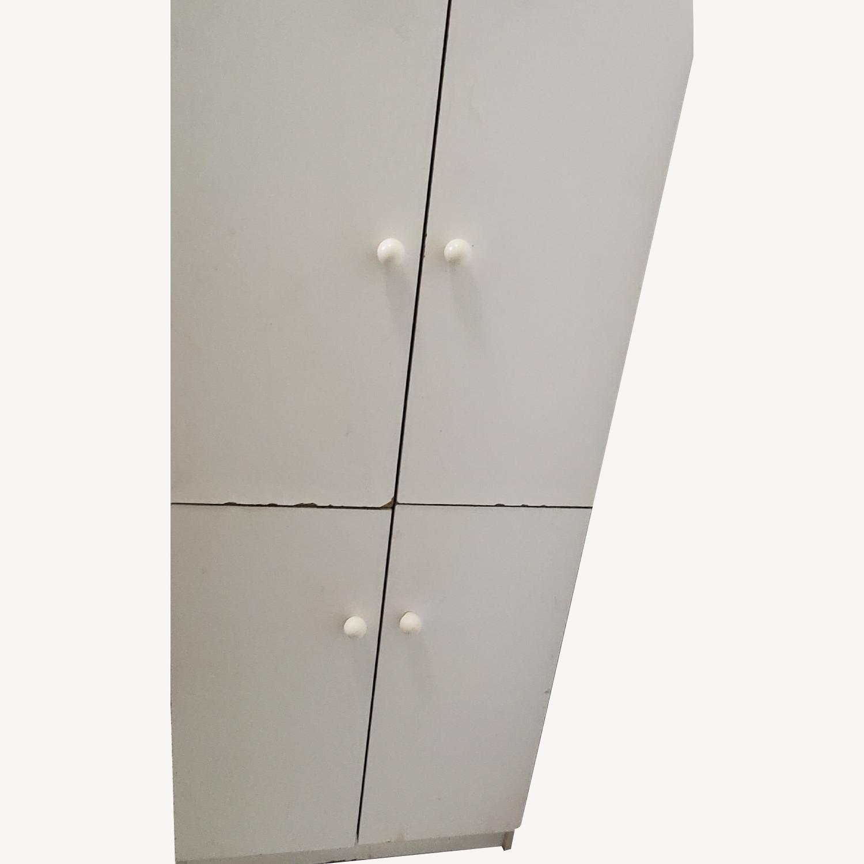 White Storage Cabinet - image-0