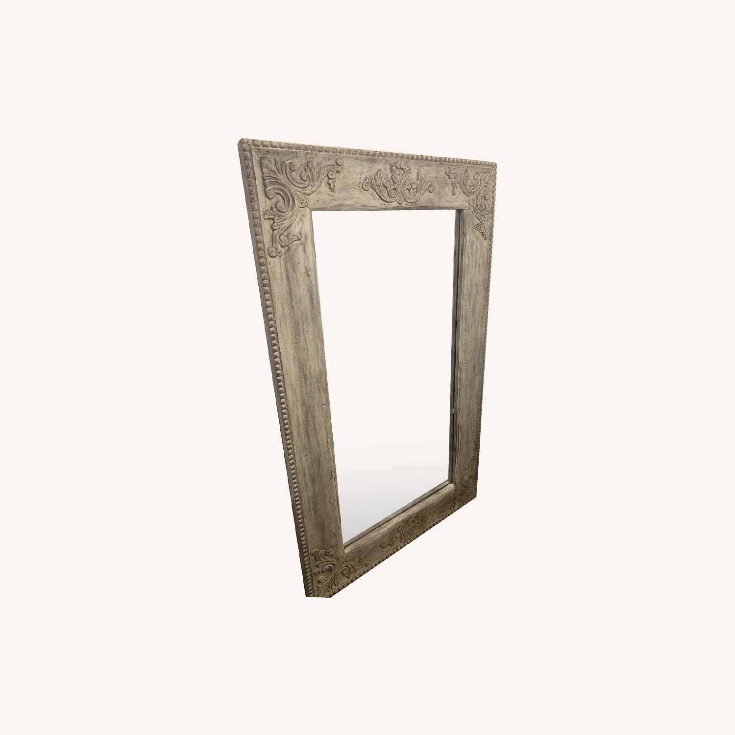 Full Length Solid Wood Standing Carved Mirror