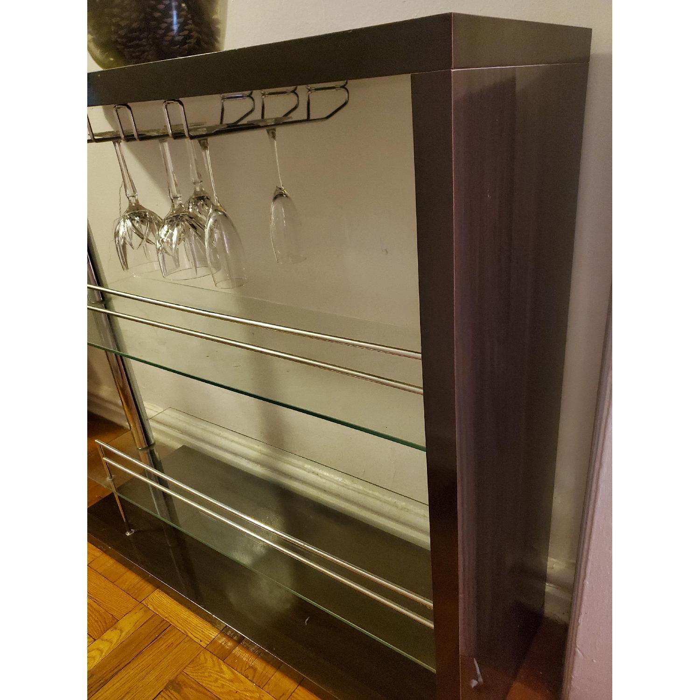 Bar Table w/ 2 Shelves - image-3