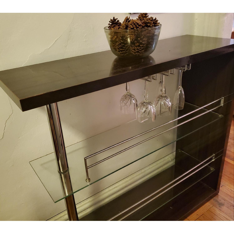 Bar Table w/ 2 Shelves - image-2