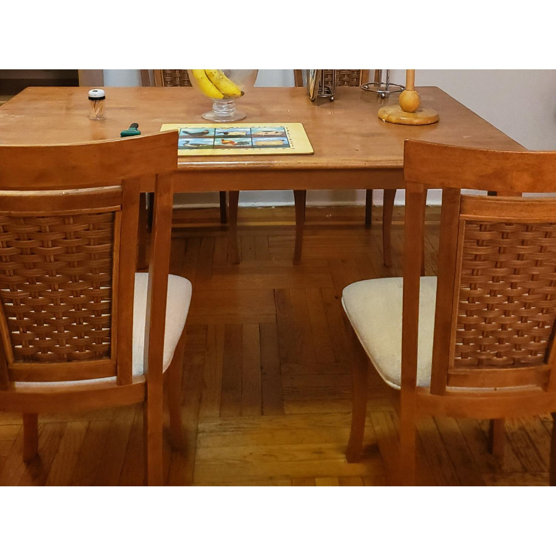5-Piece Wood Dining Set - image-1