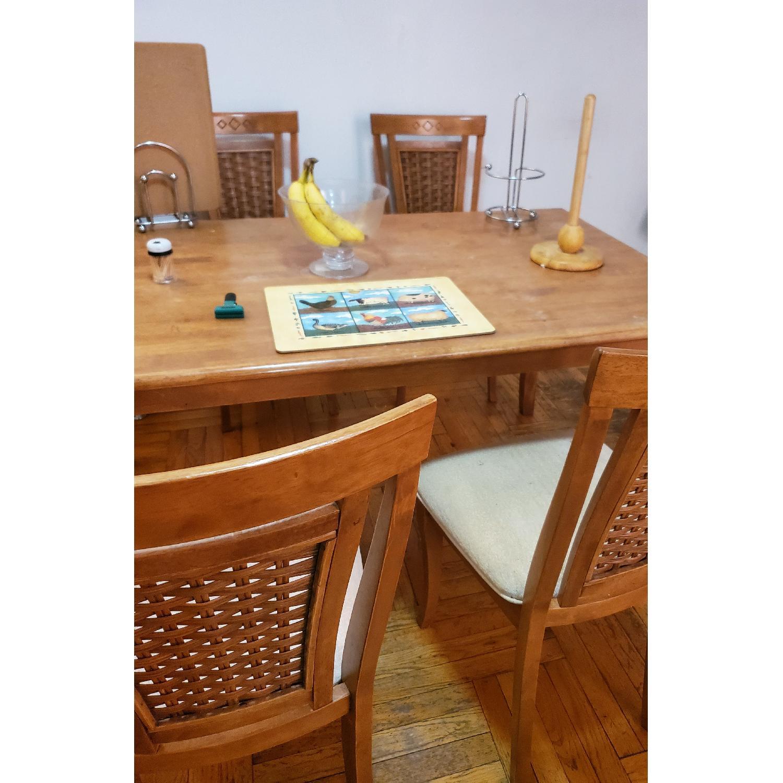 5-Piece Wood Dining Set - image-4