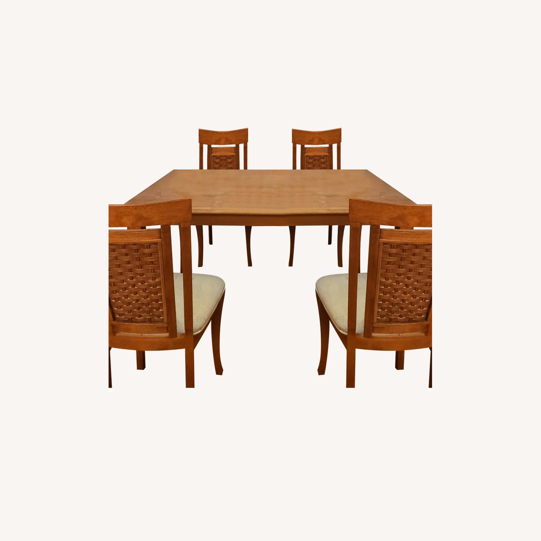 5-Piece Wood Dining Set - image-0