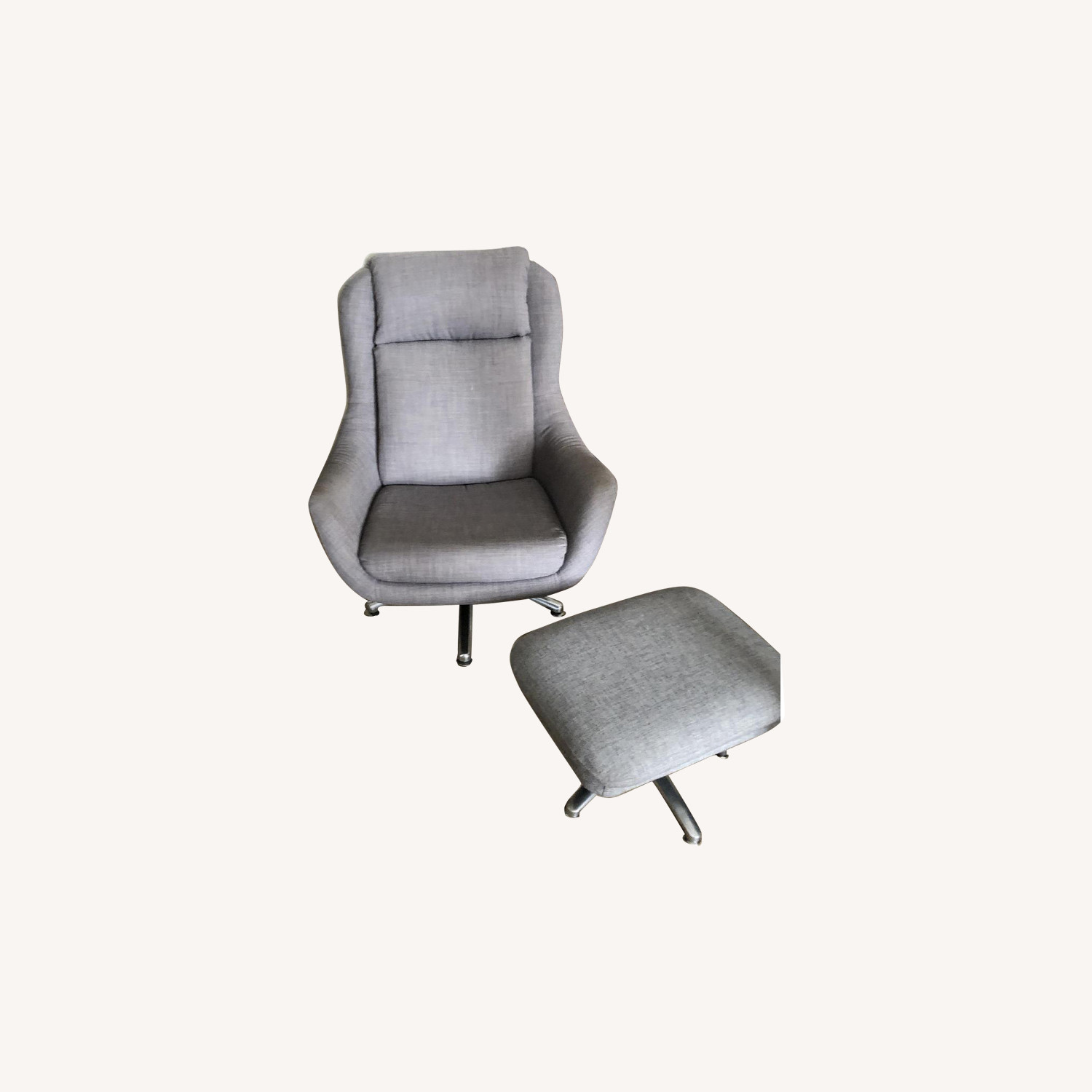 Overman Office Chair & Footstool