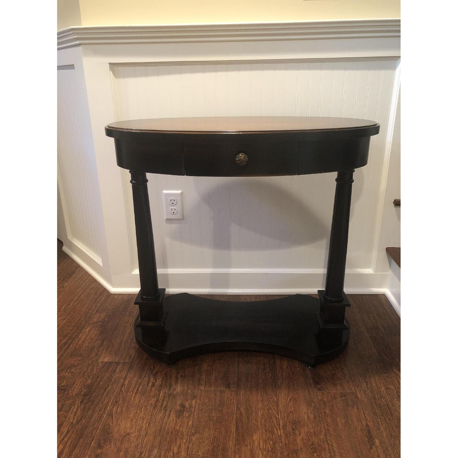 Small Oval Side Table - image-1