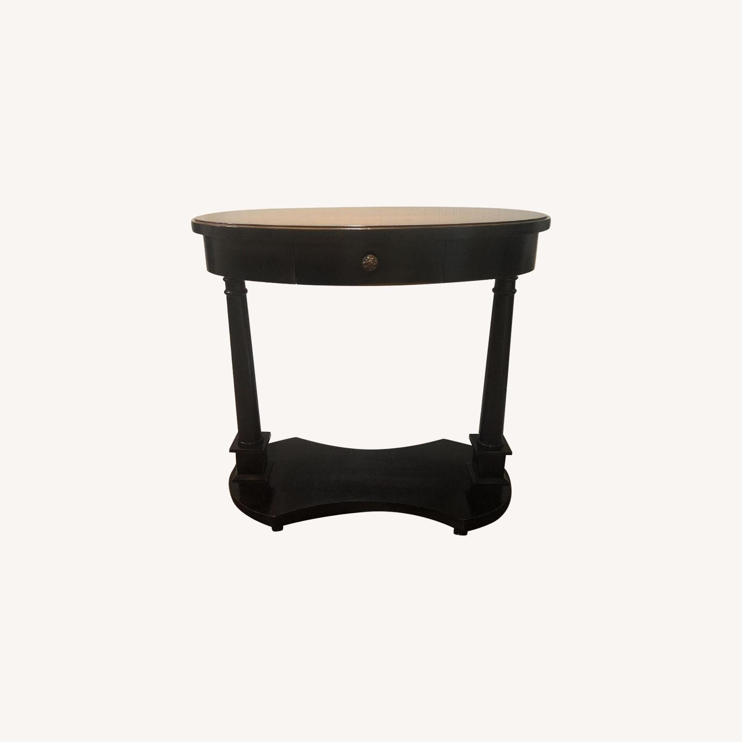 Small Oval Side Table - image-0