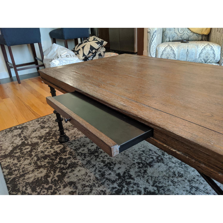 Bassett Rustic Cast Iron Coffee Table - image-2