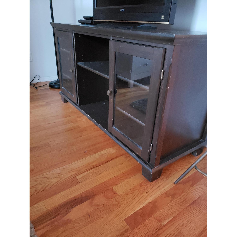 Vintage Wood TV Stand - image-1