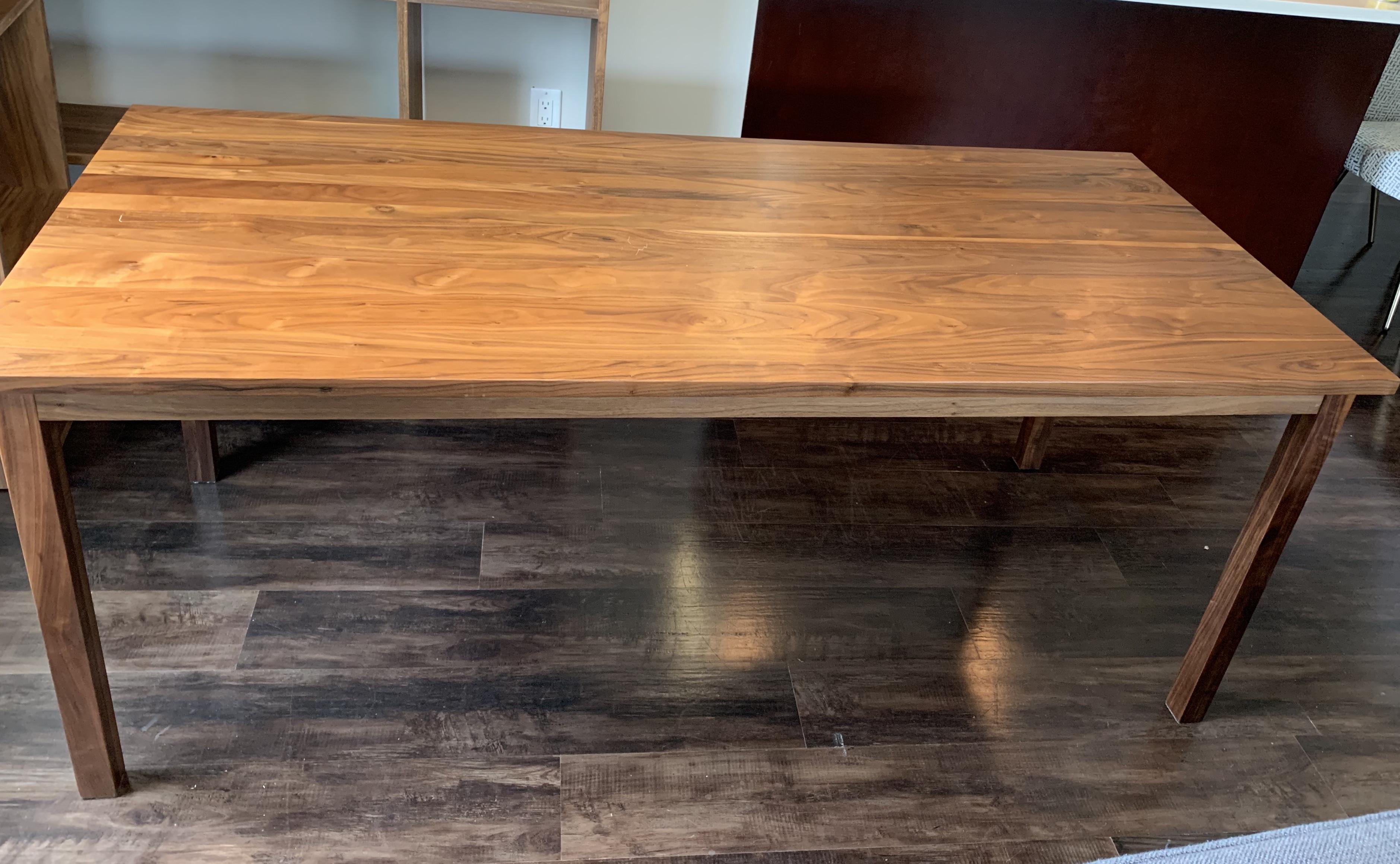 Muji Walnut Dining Table