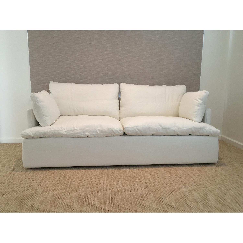Incredible Restoration Hardware Cloud Track Arm Sofa Aptdeco Unemploymentrelief Wooden Chair Designs For Living Room Unemploymentrelieforg