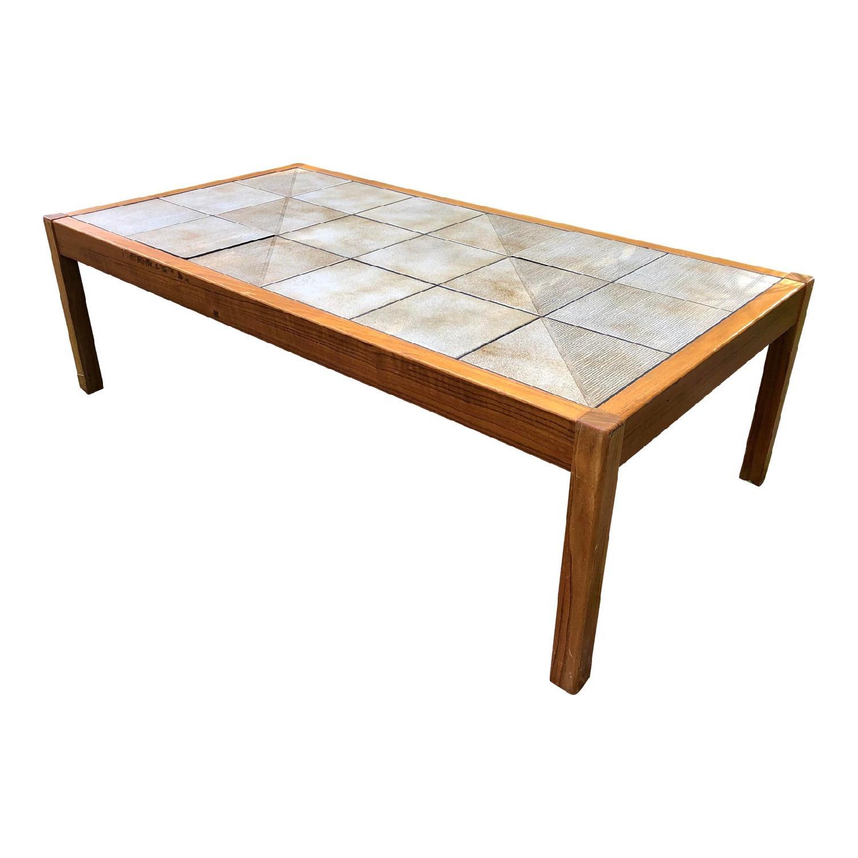 Mobler Vintage Danish Tile Coffee Table - image-0