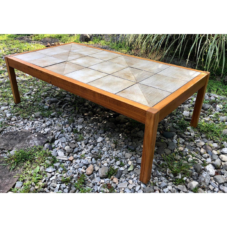 Mobler Vintage Danish Tile Coffee Table - image-1