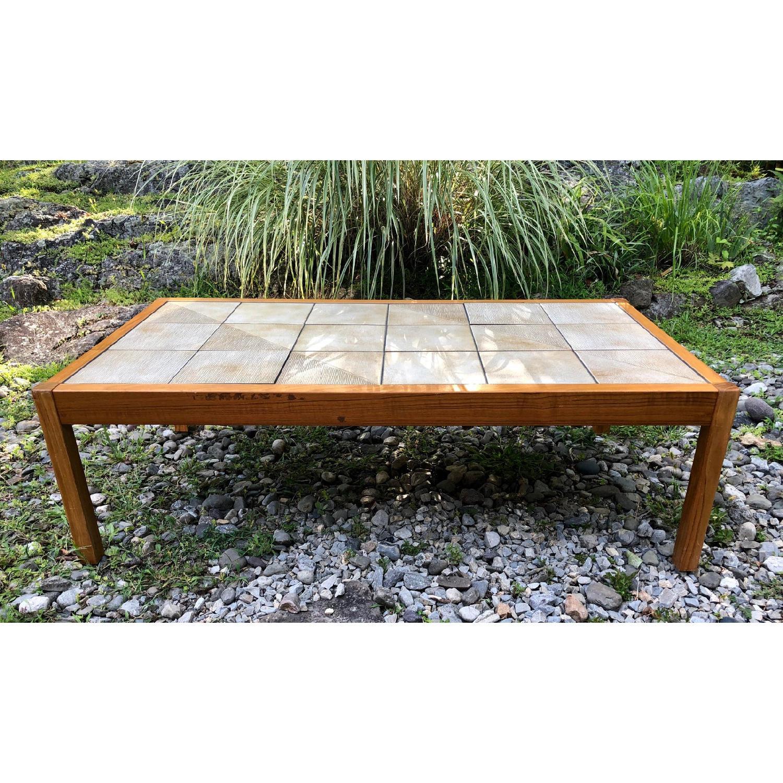 Mobler Vintage Danish Tile Coffee Table - image-3