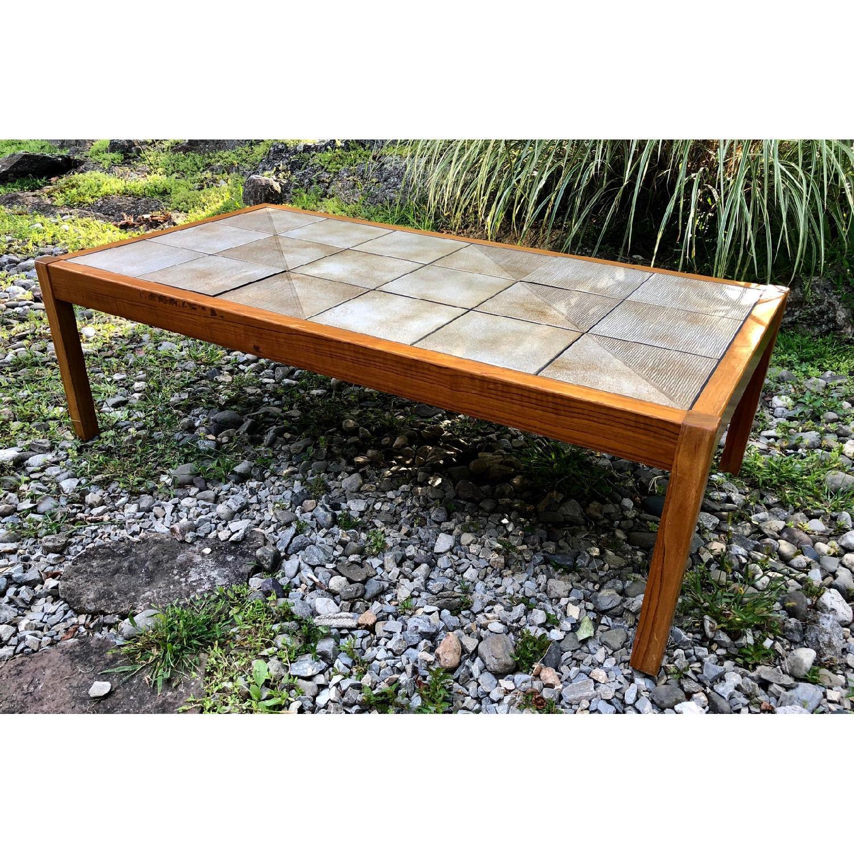 Mobler Vintage Danish Tile Coffee Table - image-4