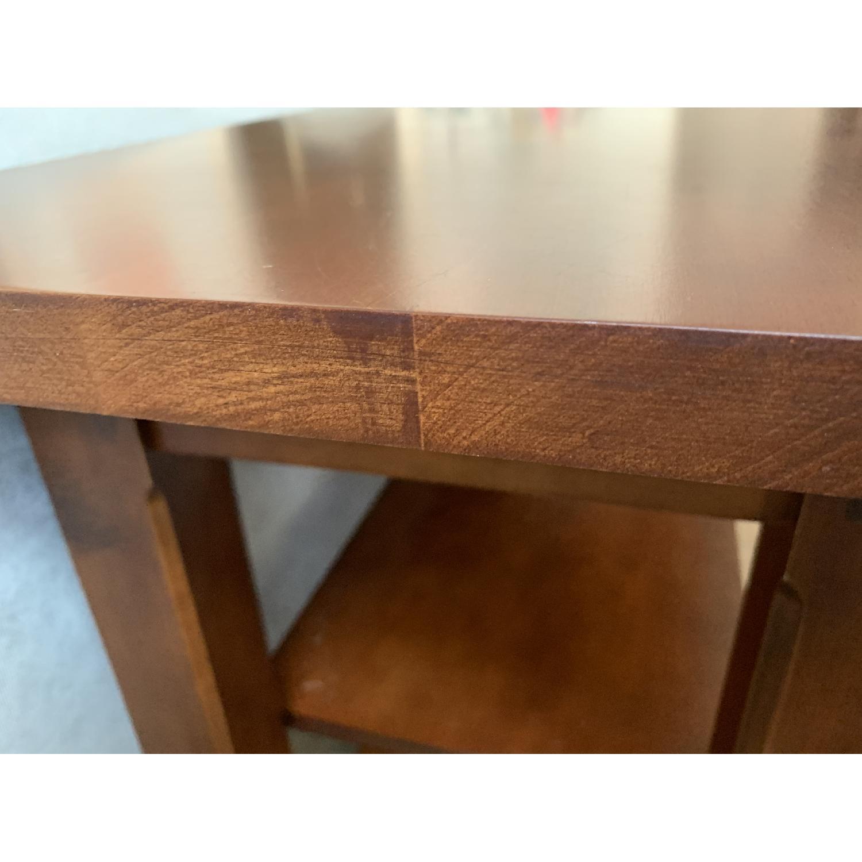 Crate & Barrel Solid Maple Credenza - image-5