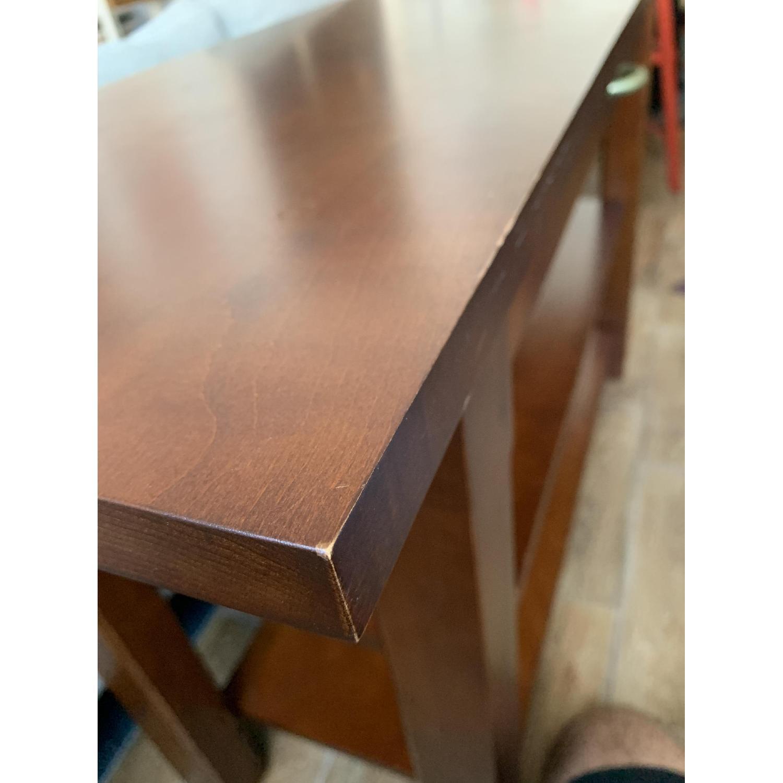 Crate & Barrel Solid Maple Credenza - image-7