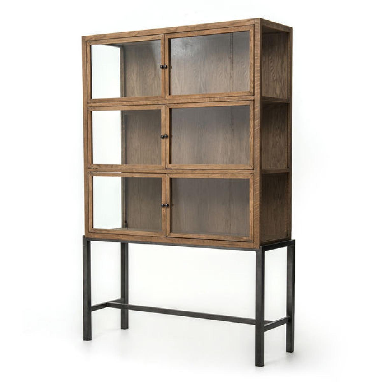 Four Hands Spencer Curio Cabinet - image-0
