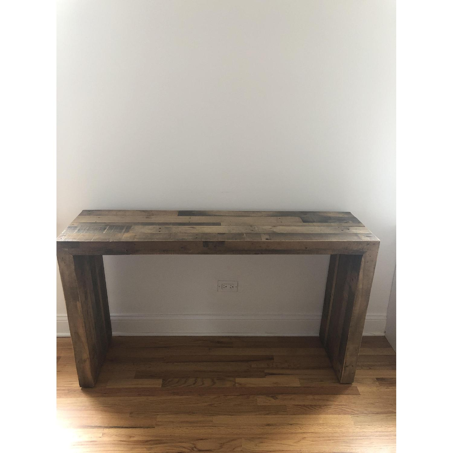 West Elm Reclaimed Wood Console Table - image-1