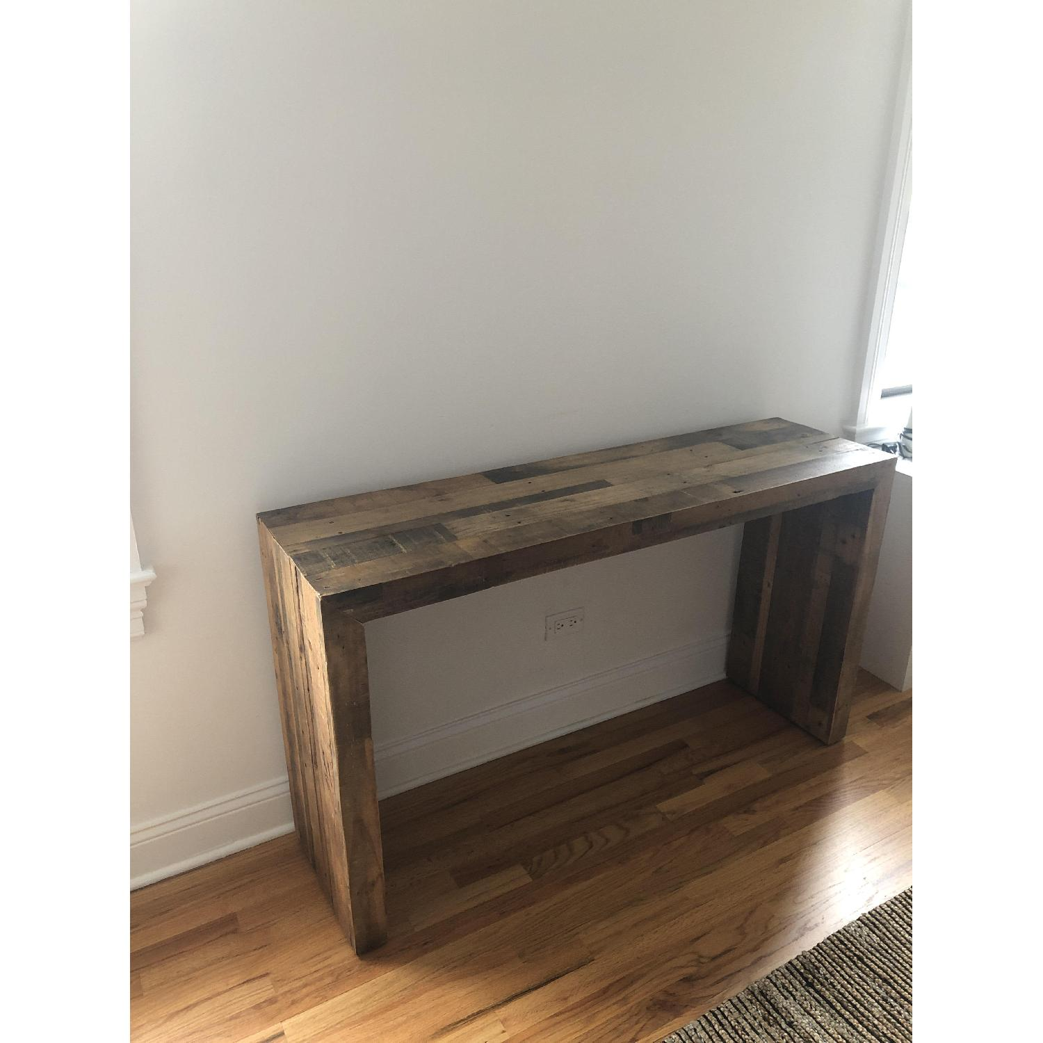 West Elm Reclaimed Wood Console Table - image-2
