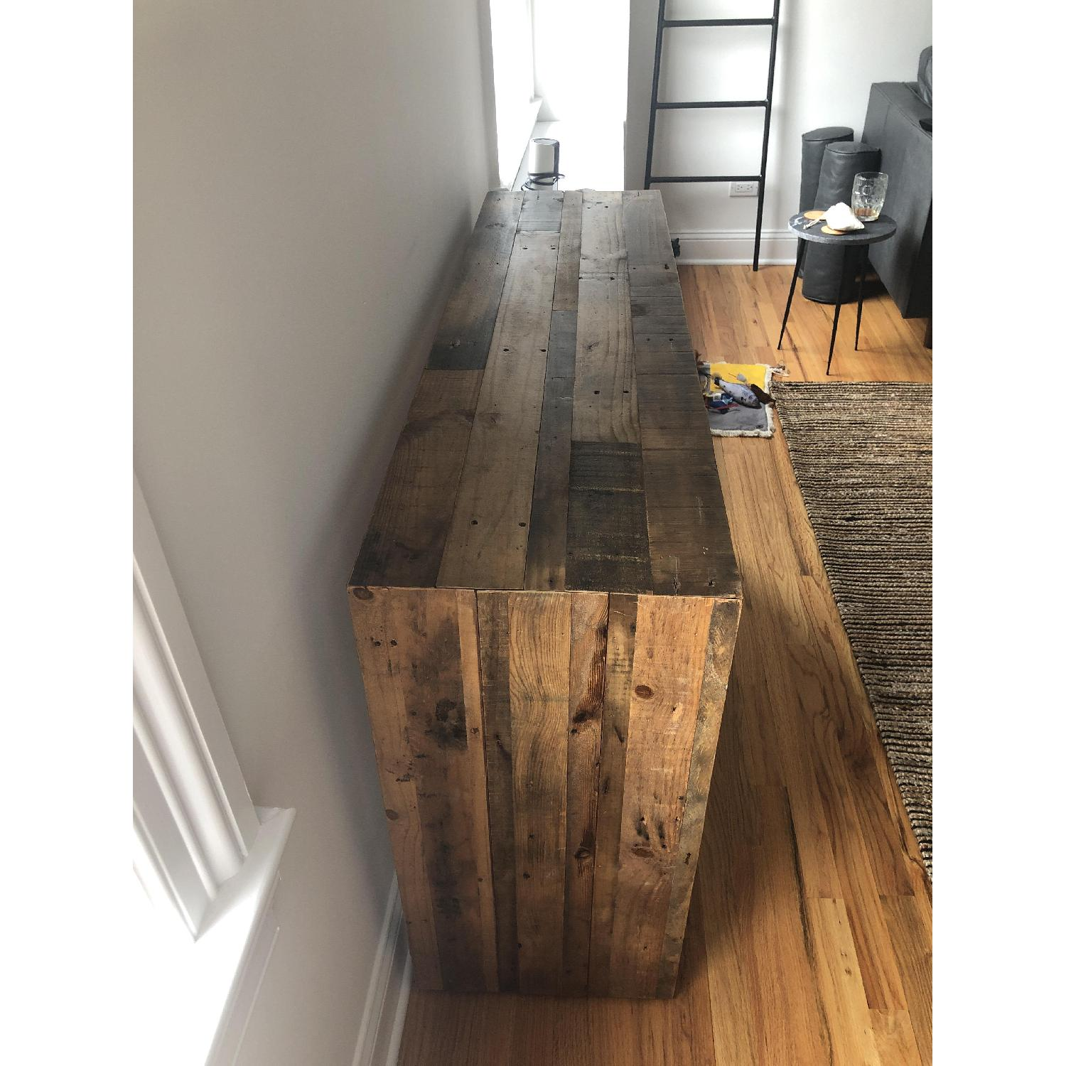 West Elm Reclaimed Wood Console Table - image-3