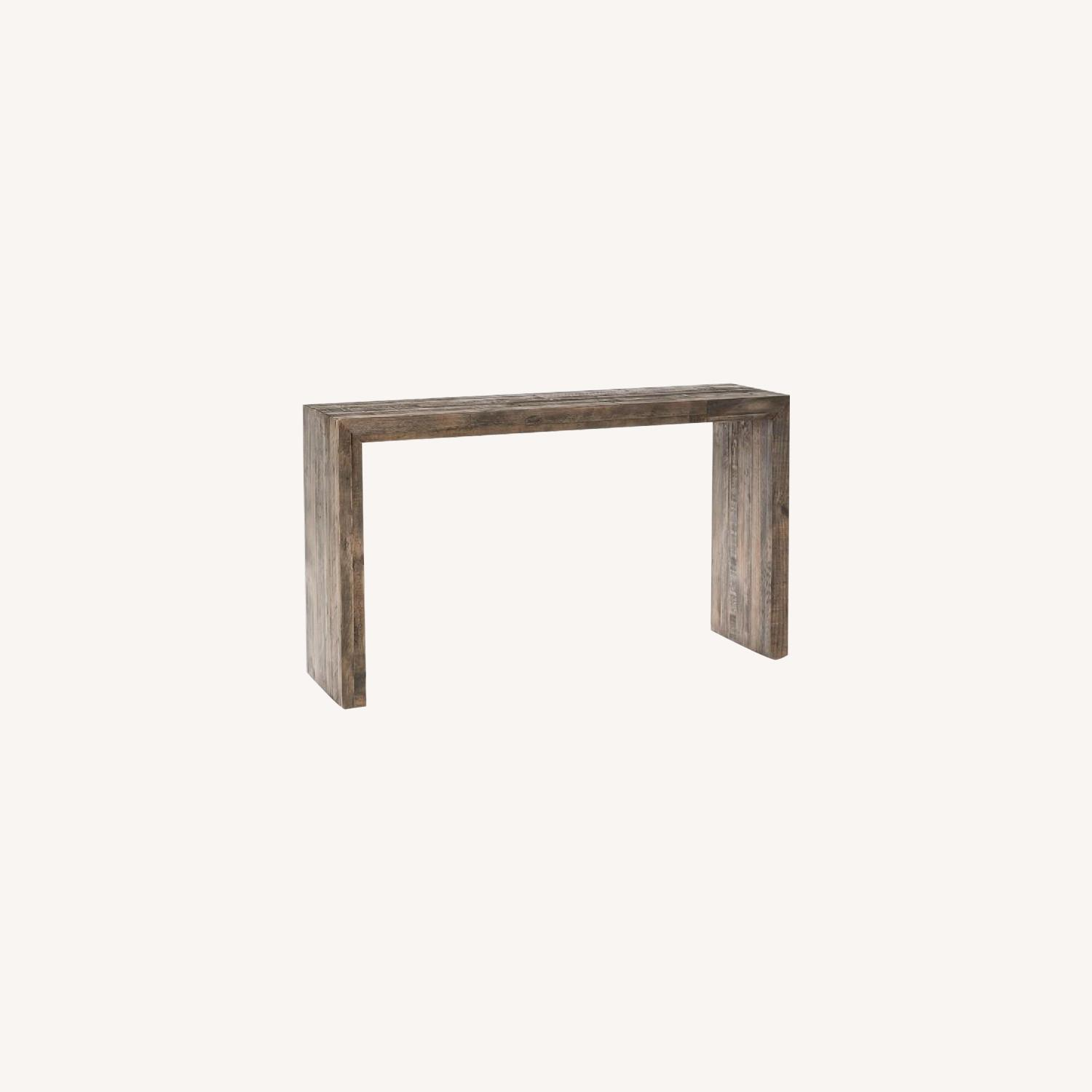 West Elm Reclaimed Wood Console Table - image-0