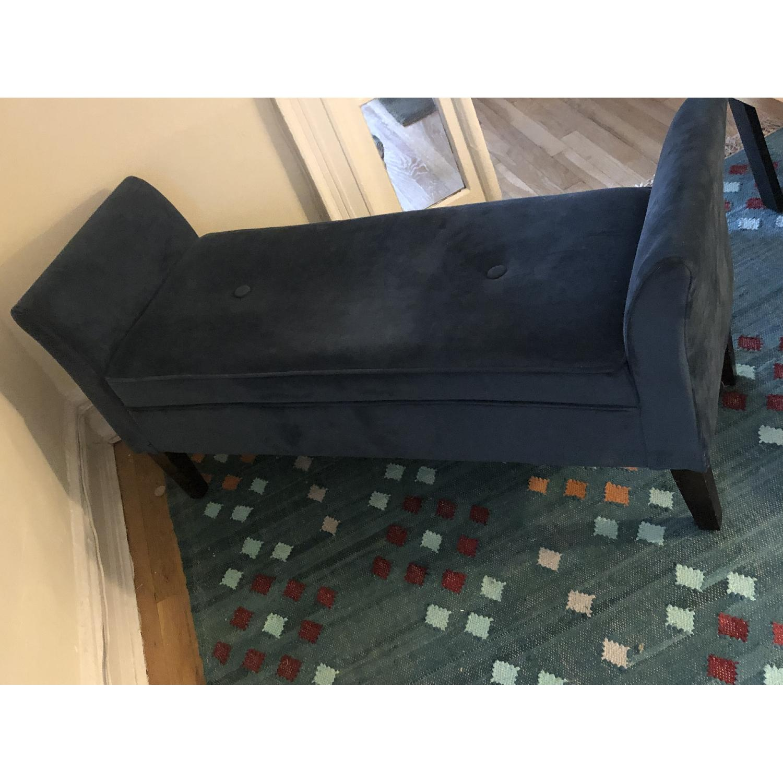 Target Midnight Blue Upholstered Bench - image-4