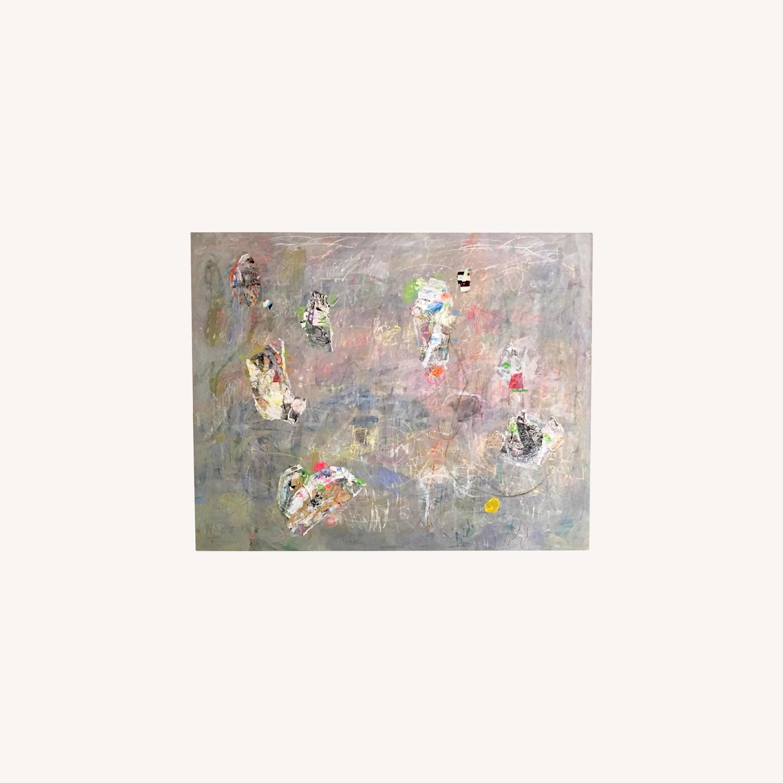 Ellen Reinkraut Abstract Art  - Focus on the Bright Spot