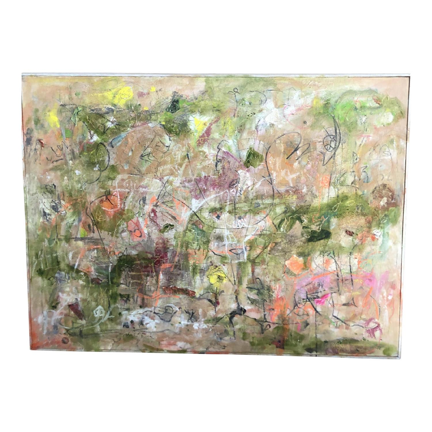 Mothers Garden Abstract Expressionist Landscape - image-2