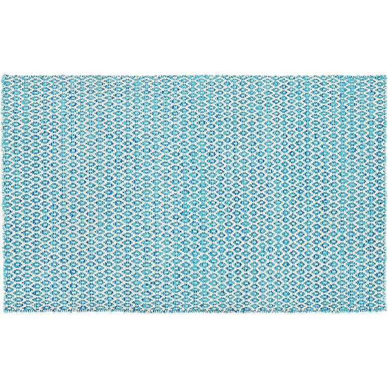 CB2 Sweater Pattern Wool Flatweave Rug