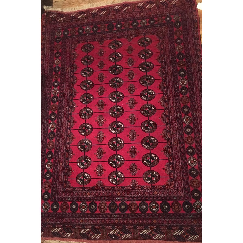 Handmade Oushak Turkish Anatolian Area Rug - image-1