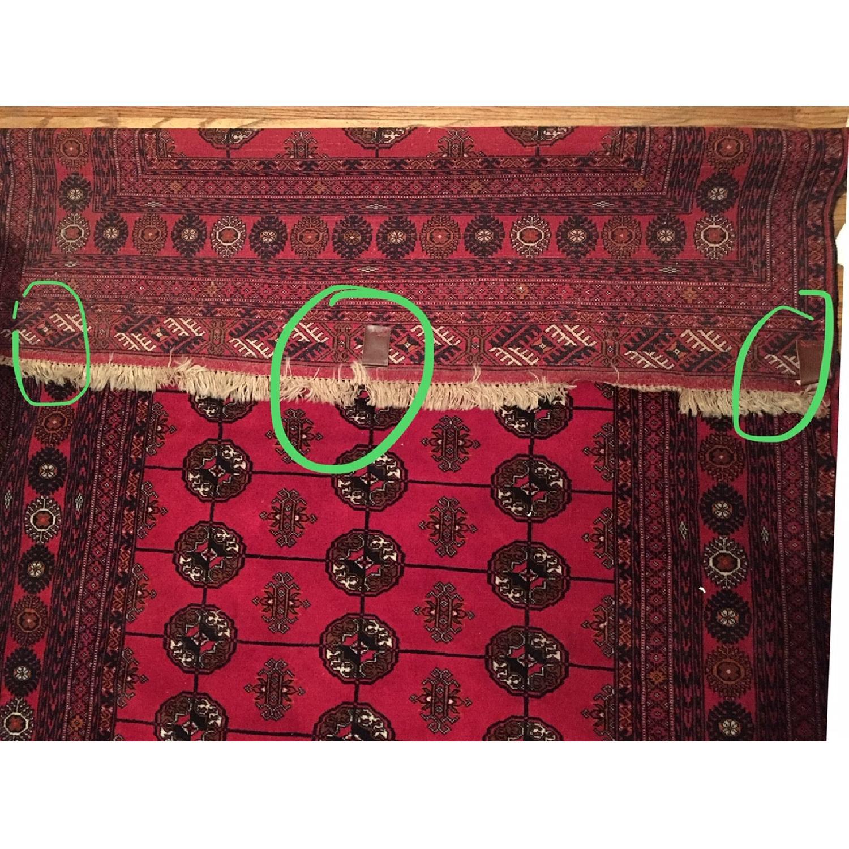 Handmade Oushak Turkish Anatolian Area Rug - image-2