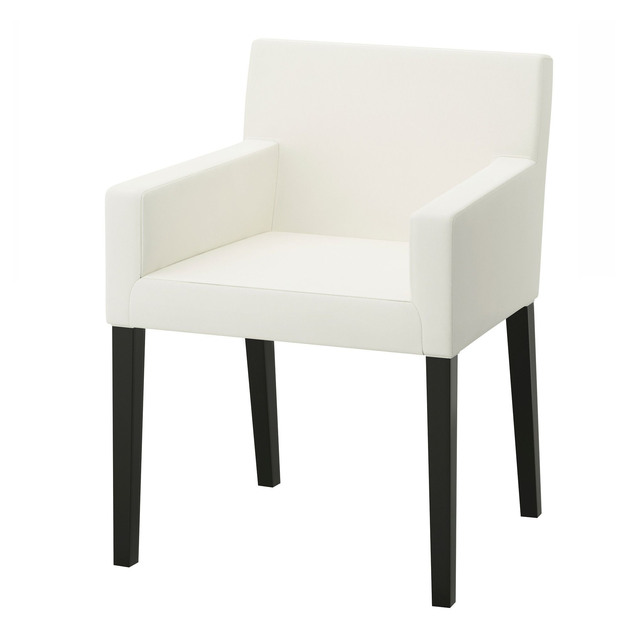 Ikea Nils Grey & White Armchairs