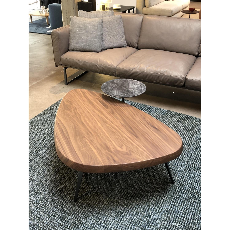 Cassina Walnut Coffee Table - image-1