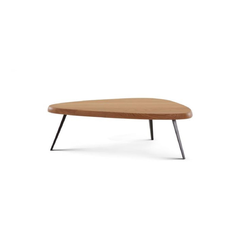 Cassina Walnut Coffee Table - image-0