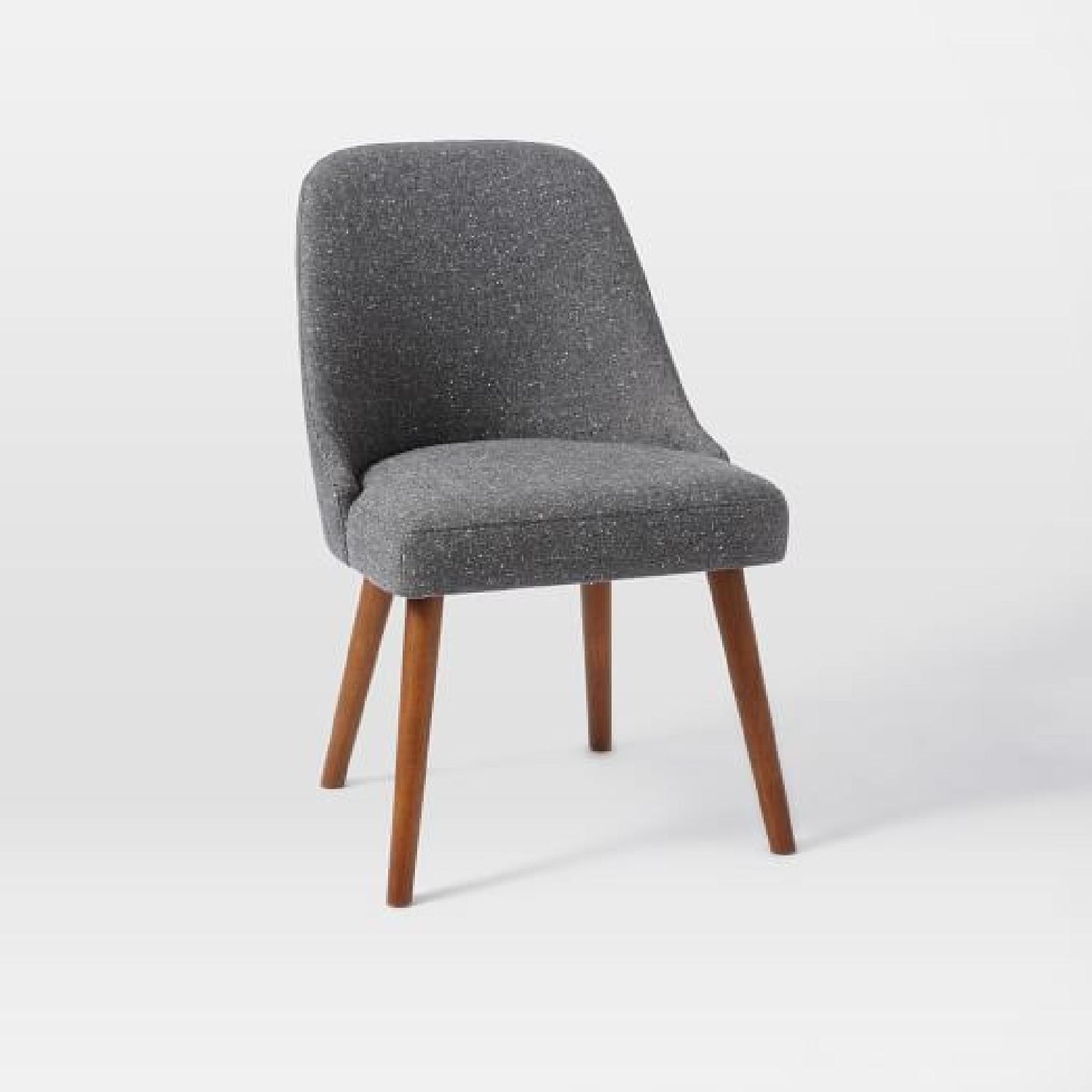 West Elm Upholstered Dining/Accent Chairs - image-0