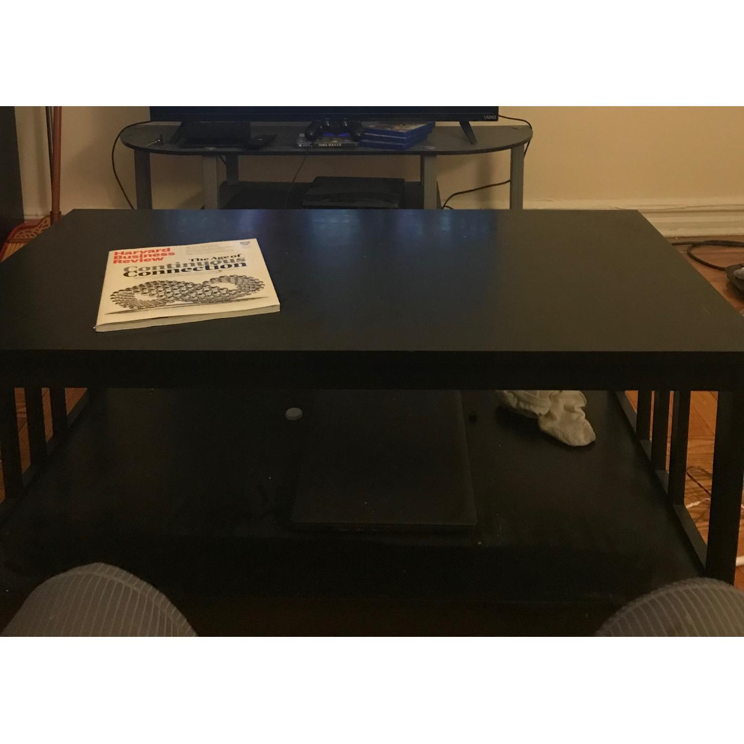 Porch & Den Miro Mission Black Coffee Table - image-1