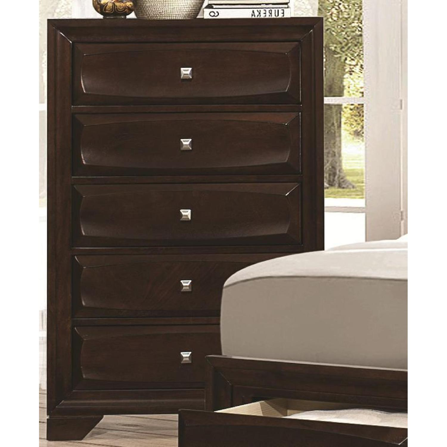 Chest in Cappuccino w/ Drawer Front Design - image-3