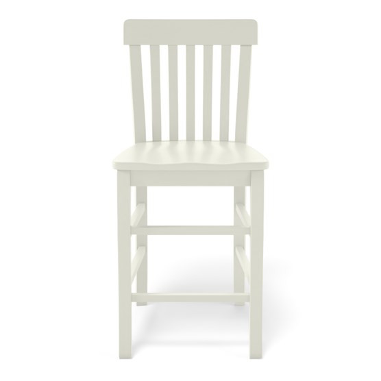 Maine Cottage White Counter Stool
