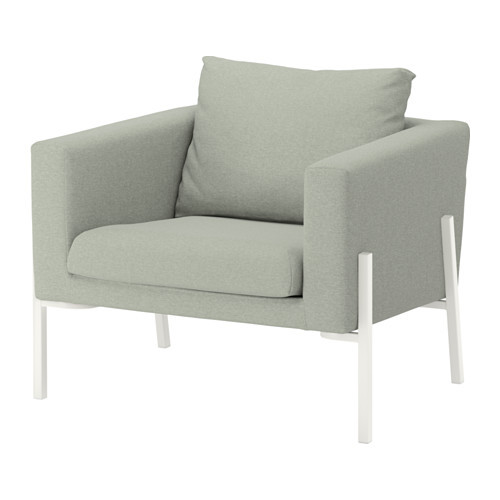 Ikea Koarp Arm Chair in Light Green Color