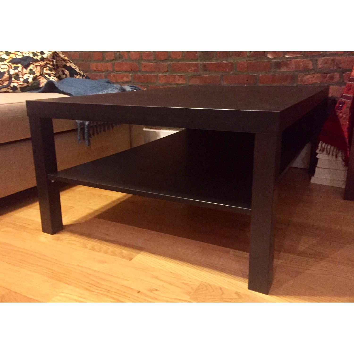 Ikea Lack Black Coffee Table - image-2