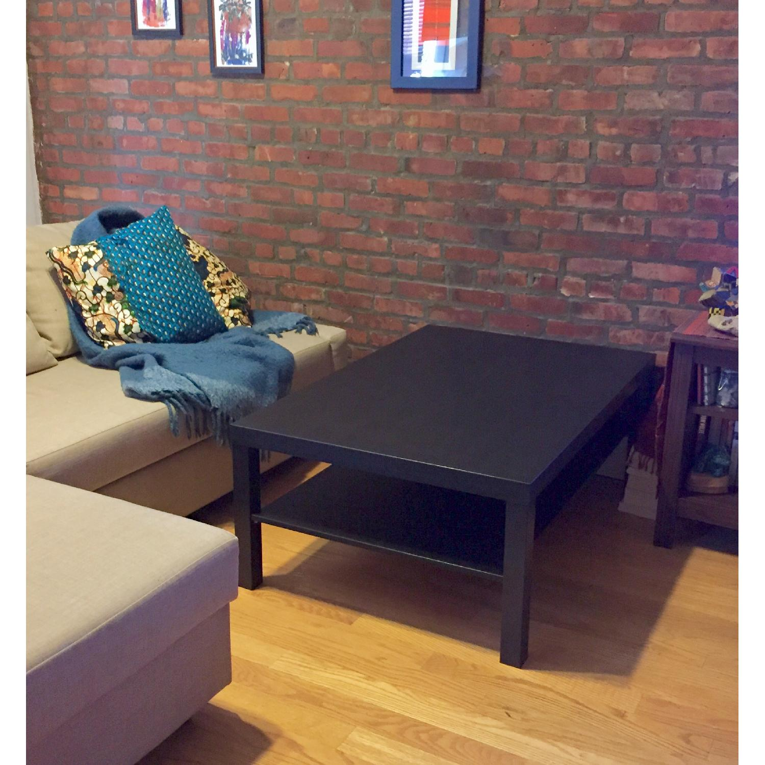 Ikea Lack Black Coffee Table - image-3