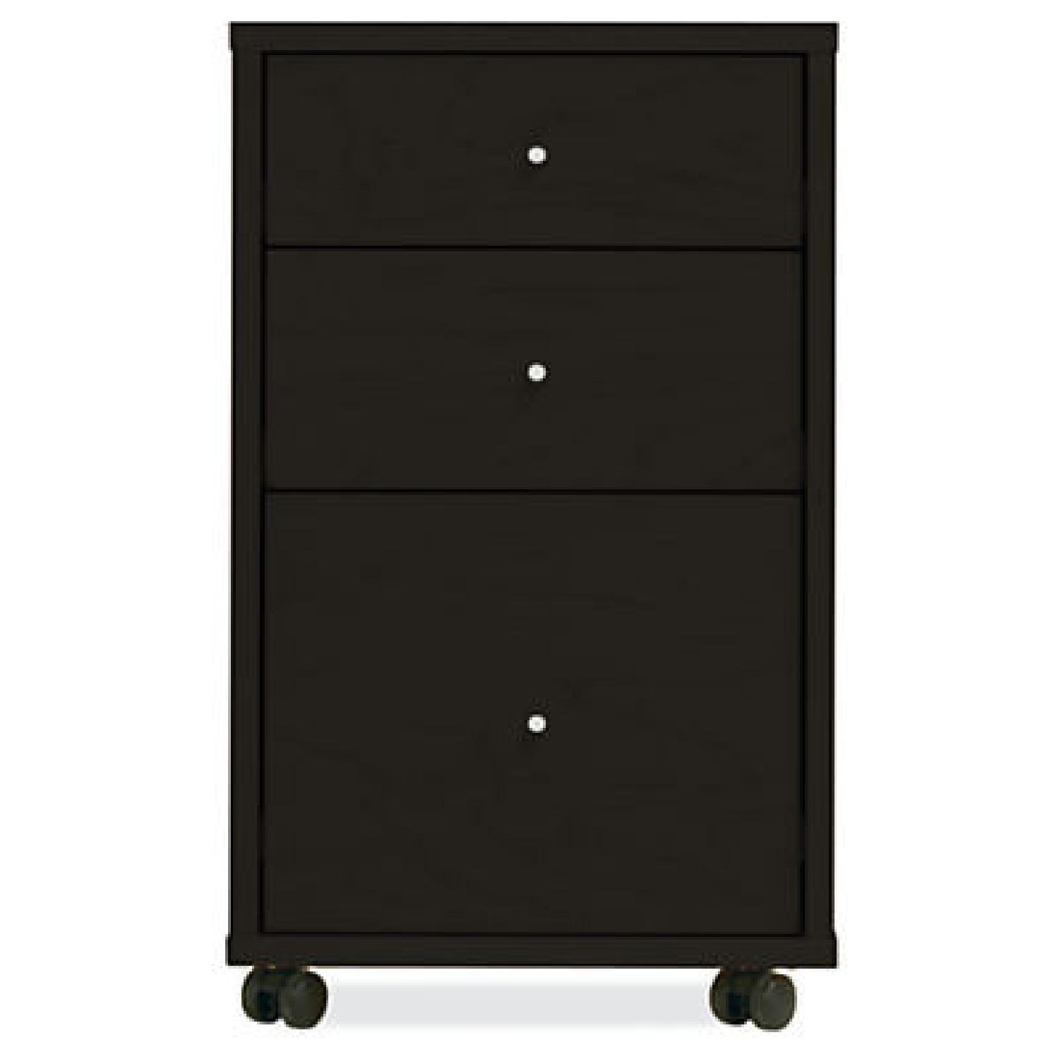 Room & Board Sequel Rolling File Cabinet - image-0