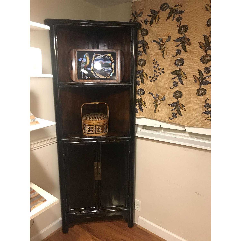 Antique Refurbished Corner Cabinets - image-2