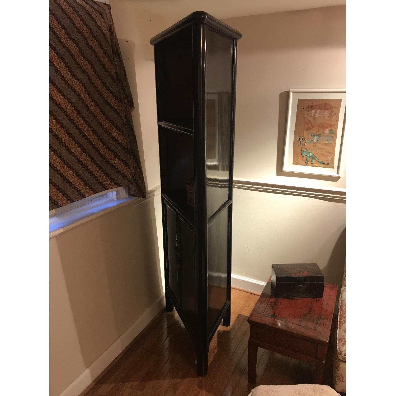 Antique Refurbished Corner Cabinets - image-3