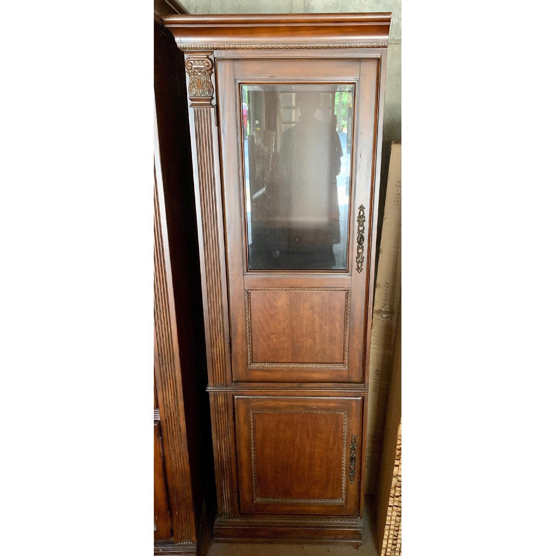 Curio Cabinet w/ Media Storage - image-1