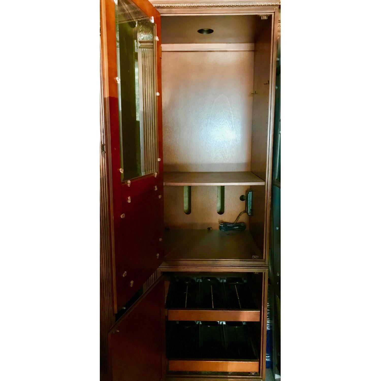 Curio Cabinet w/ Media Storage - image-2