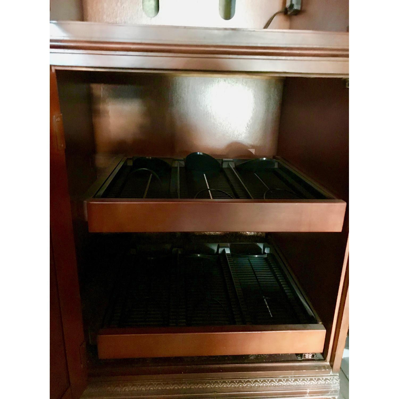 Curio Cabinet w/ Media Storage - image-3