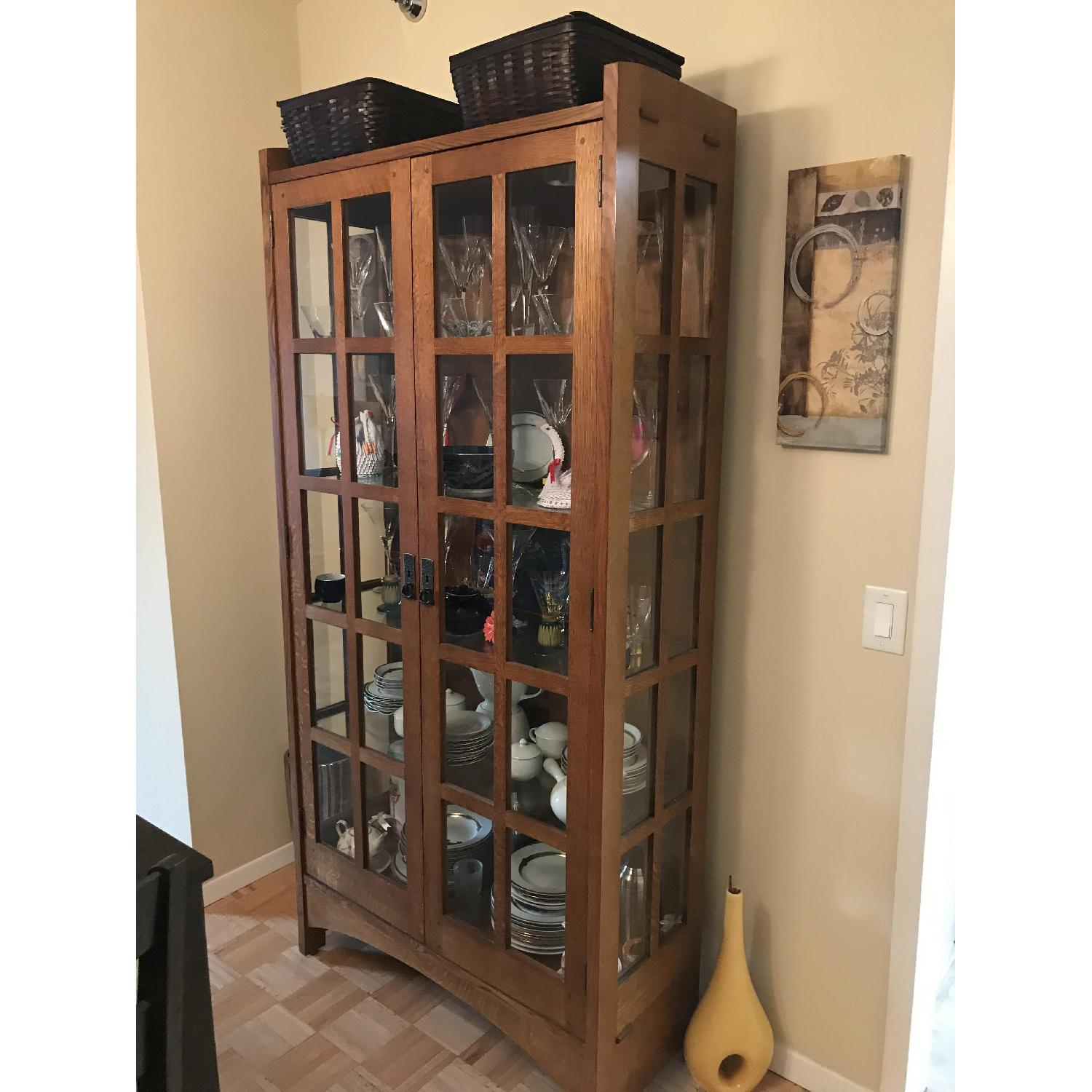 Stickley Mission China Cabinet - image-1